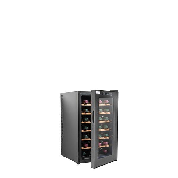 מקרר יין טרמו-אלקטרי עד 28 בקבוקים עם מדפי עץ CH-70FD2