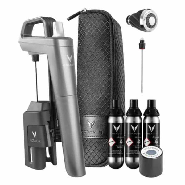 CORAVIN Model Five Plus Pack - מערכת לשימור ולמזיגת יין